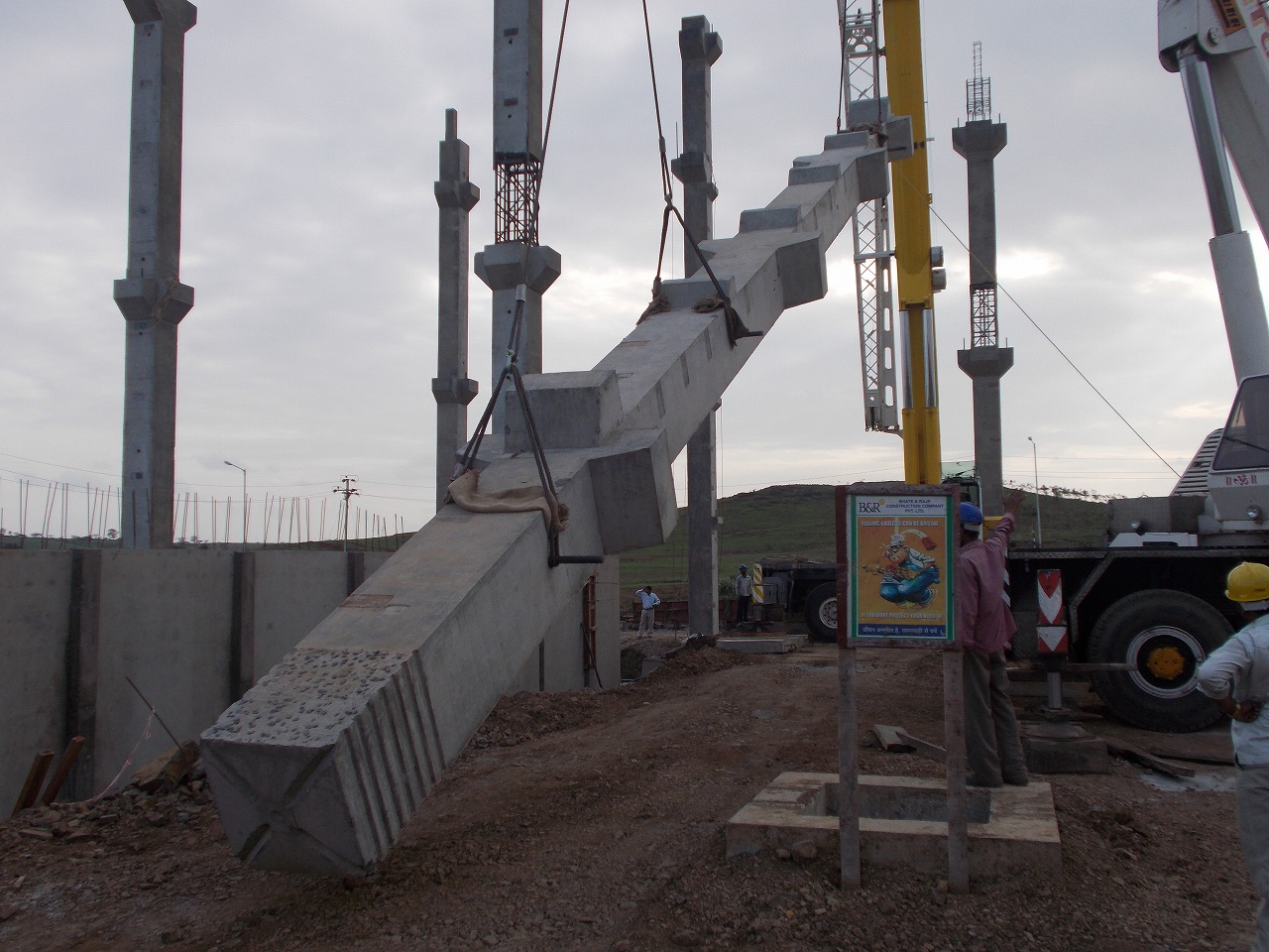 Prestressed Concrete Boundary Walls Concrete Floor Slab