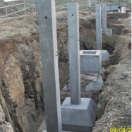 Columns with Footing