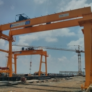 Rail mounted A-Frame Gantry cranes 30MT Capacity and 15m Span