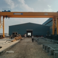 Rail Mounted A Frame Gantry with 40MT Capacity and 25m Span