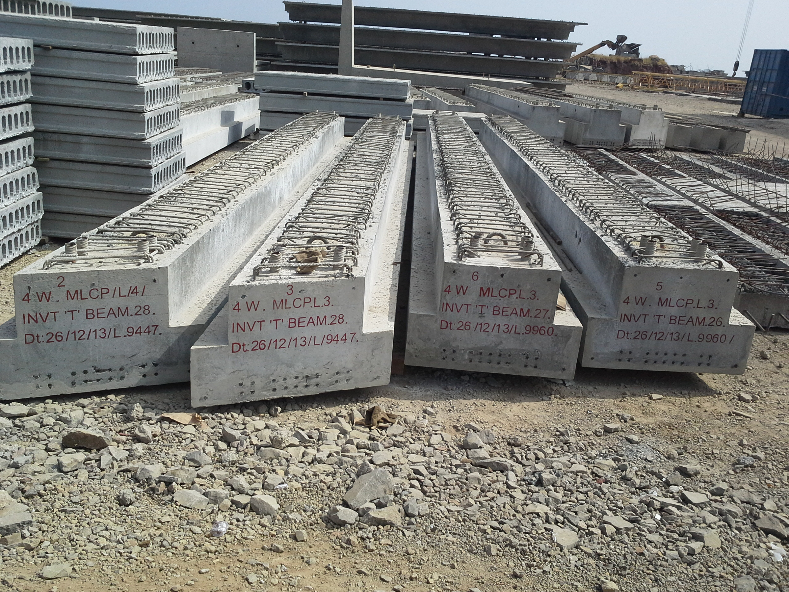 Prestressed Beams And Rafters Precast India