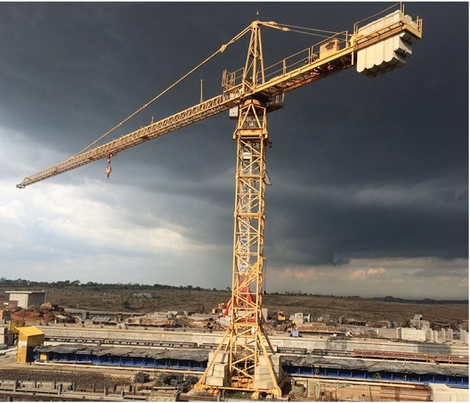Tower Crane Productivity : Our production facility precast india infrastructures
