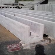 Pretensioned U beams