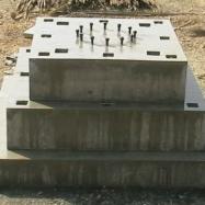 Modular Pedestal Footings